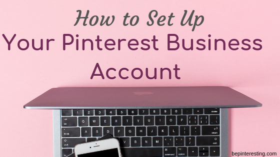 HO to set up a pinterest business account