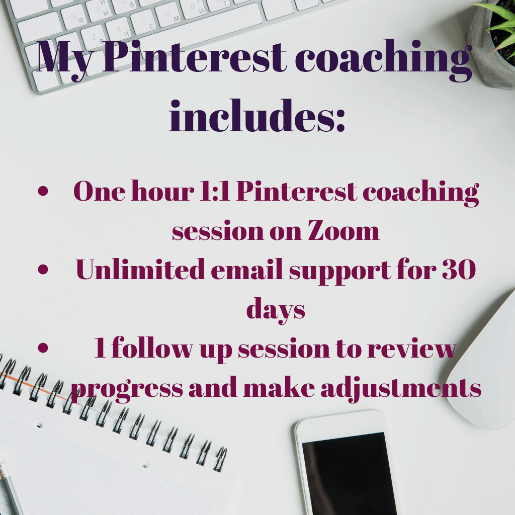 pinterest coaching session