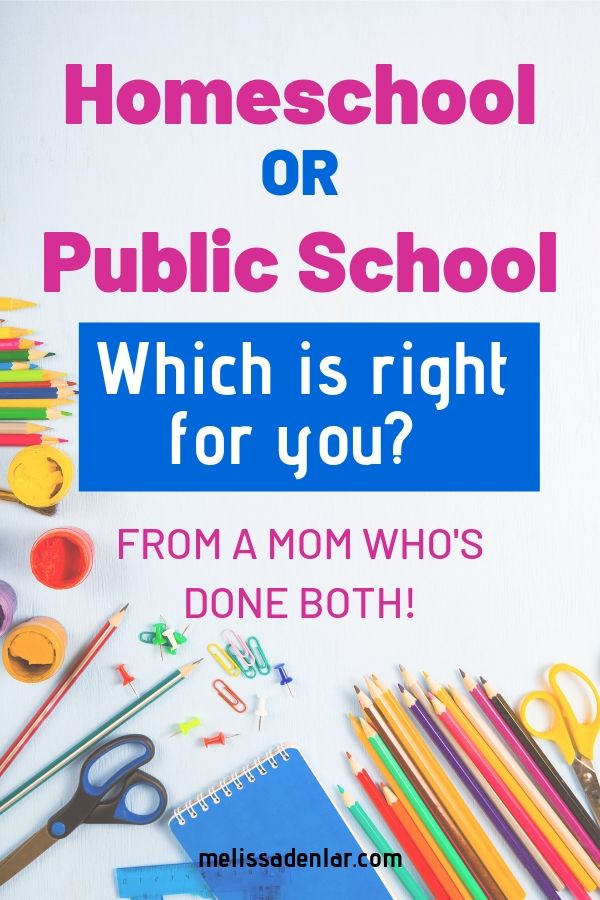 Homeschool vs public school - which is right for you? You can learn a thing or two from this mom who's done both homeschooling and public school. Learn the pros and cons to each before you make your decision.